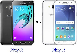 Perbandingan Samsung Galaxy J3 vs J5