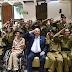 Presidente de Israel, Reuven Rivlin honra 30 Soldados com deficiência