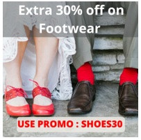 Get Extra 30% Off on Men's & Women's Footwear @ Nearbuy (Valid till 3rd Jan'16)