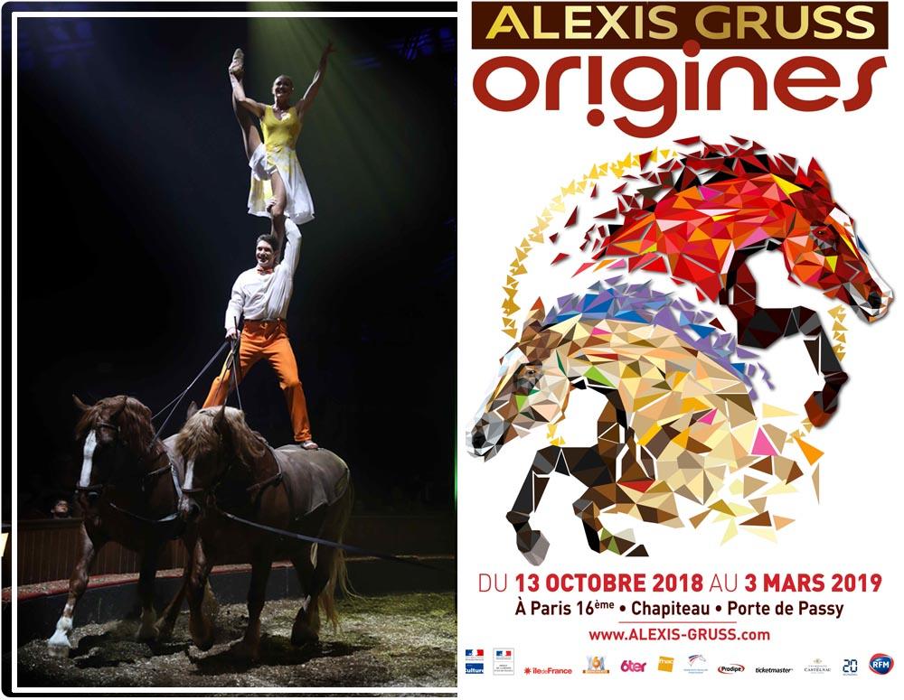 cirque équestre Origines d'Alexis Gruss