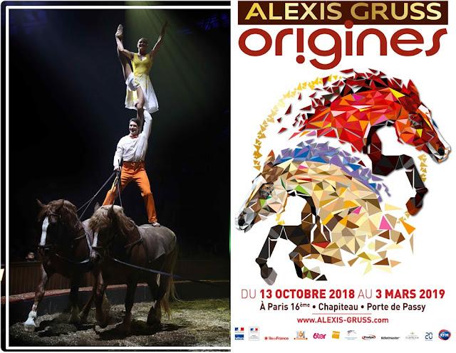Origines d'Alexis Gruss : cirque équestre