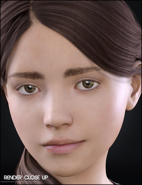 Growing Up Skin Merchant Resource for Genesis 3 Female