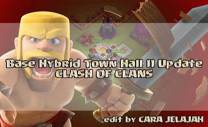 Desain Formasi Pertahanan Terbaik TH 11 di Clash Of CLans Update Terbaru