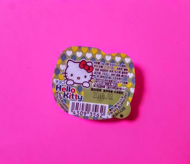 hello kitty matcha chocolate