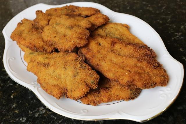 Bacaladillas empanadas