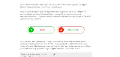 demo download butonları