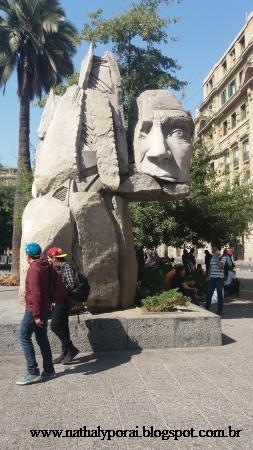 santiago monumento aos povos