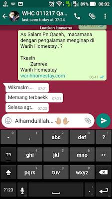 Warih-Homestay-Testimoni-Pn-Qaseh