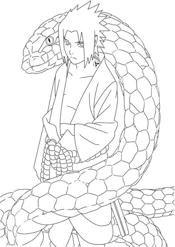 Personajes De Naruto Para Colorear Y Pintar Colorea El Dibujos