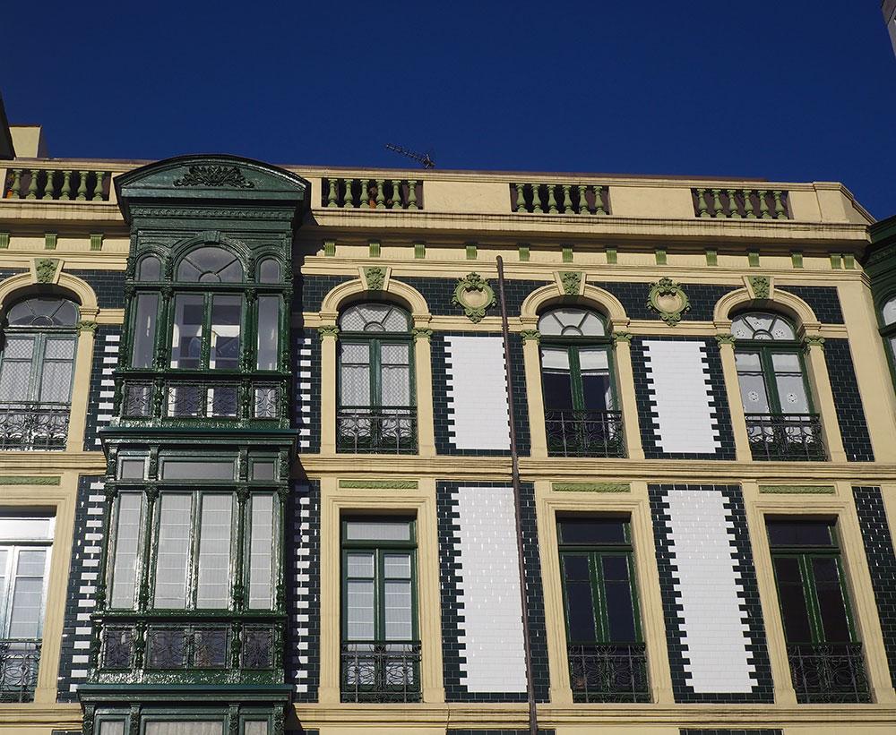 Edificios Plaza Parchis Gijón