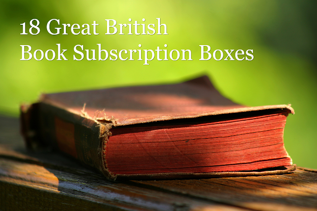 Great British Book Subscription Boxes
