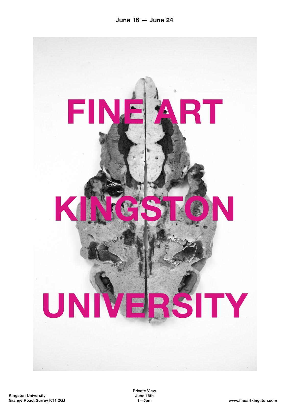 Kingston University Fine Art Degree Show
