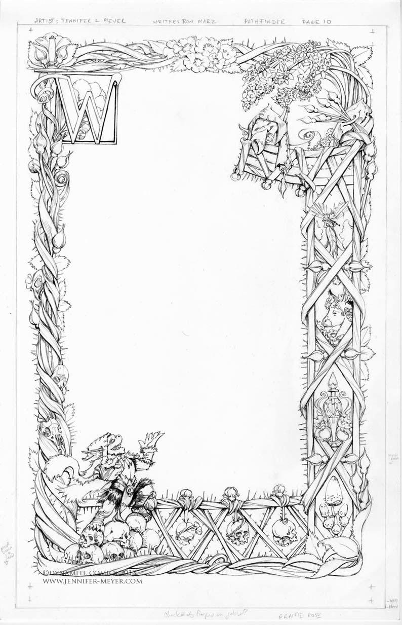 Illustrations And Comic Art Pathfinder Goblins Inks