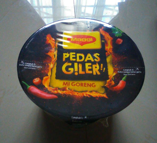 Maggi Pedas Giler