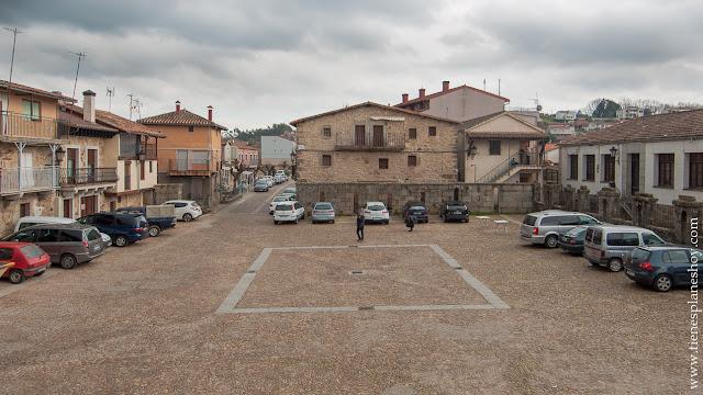 Plaza Miranda Castañar Salamanca pueblos bonitos rural