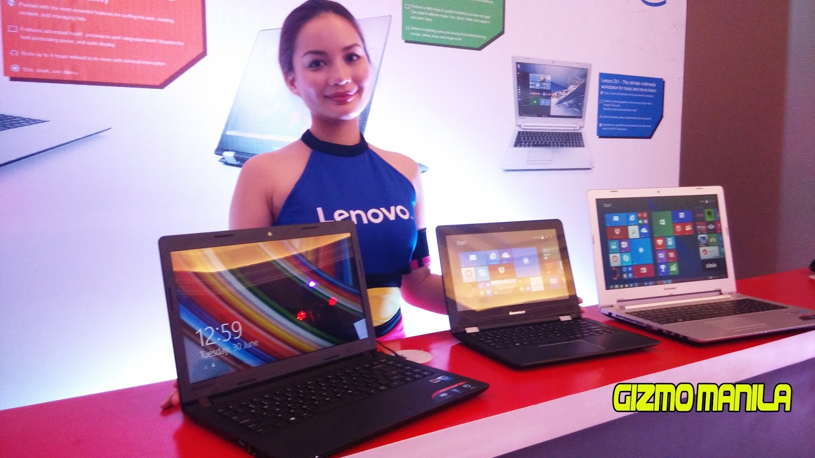 Lenovo Launch Their Newest Logo And Latest Laptop Lineups Gizmo Manila
