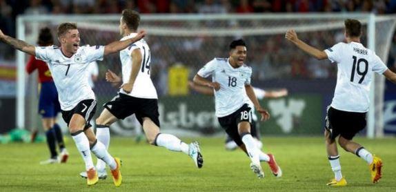 German Menang Kedua Kali European U-21 Championship
