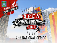 Climbing Competition Digelar di Bangka, 28 September 2017
