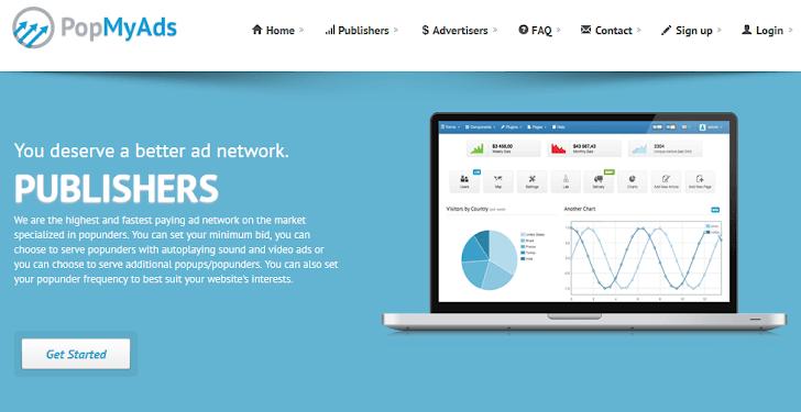 Bukti Pembayaran Pertama PopMyAds $5 Melalui Paypal 2017