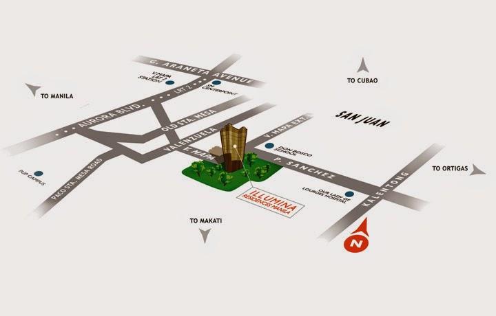 Illumina Residences Location Map