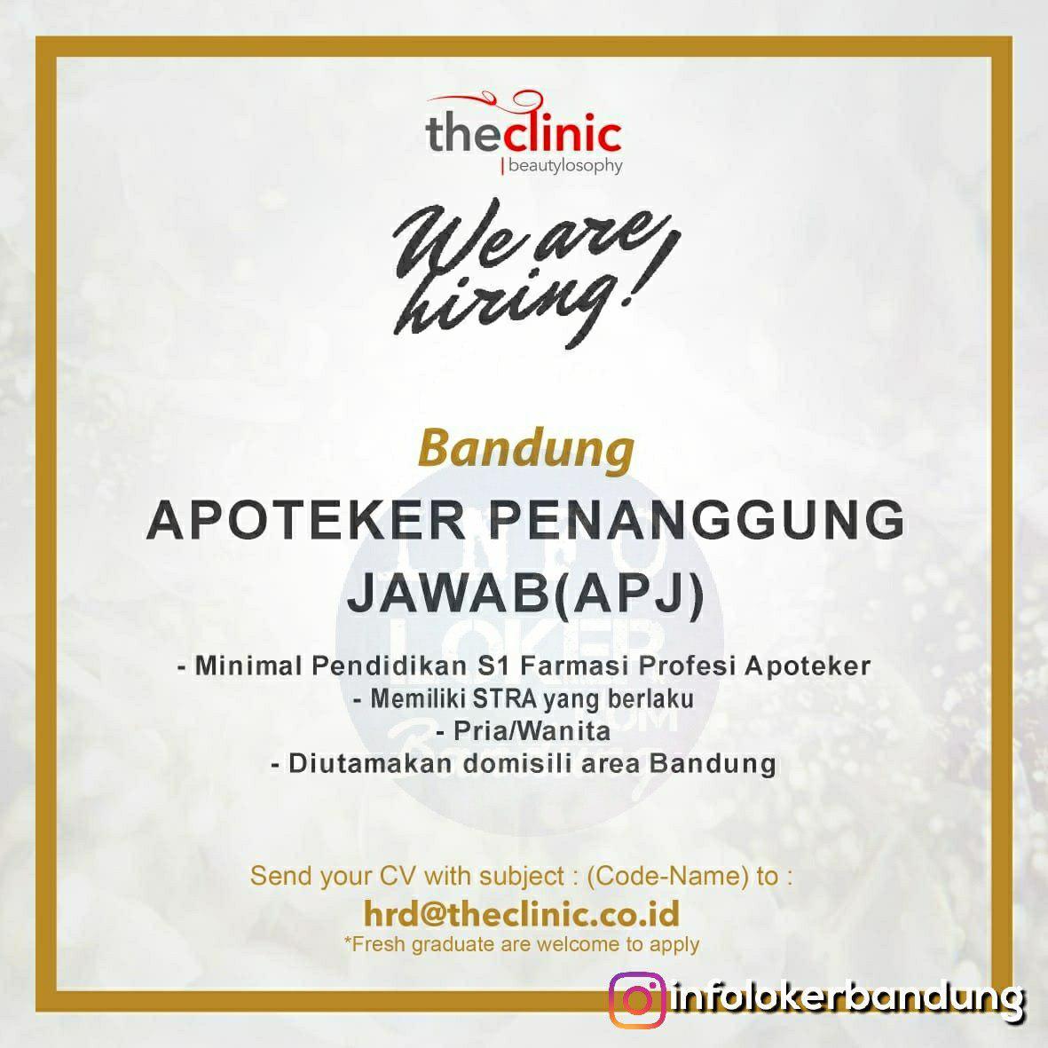 Lowongan Kerja The Clinic Beautylosophy Bandung September 2018