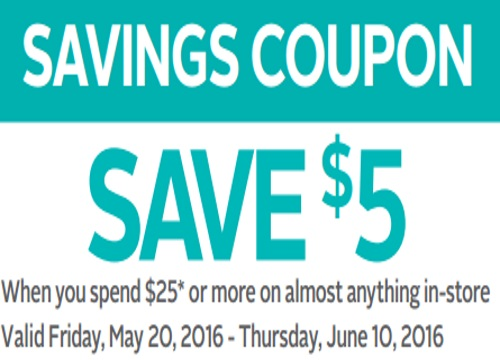Rexall Pharma Plus $5 Off Savings Coupon
