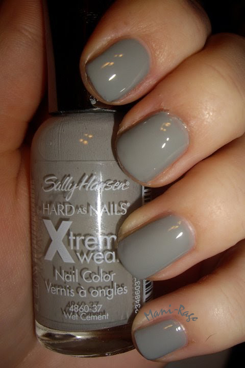 "ManiRage: Sally Hansen Hard As Nails Xtreme Wear In ""Wet"