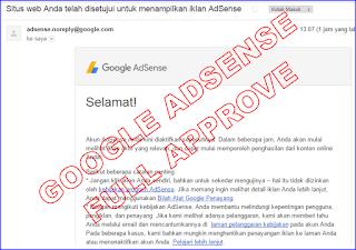Cara saya mendapatkan akun Google Adsense Full Approve