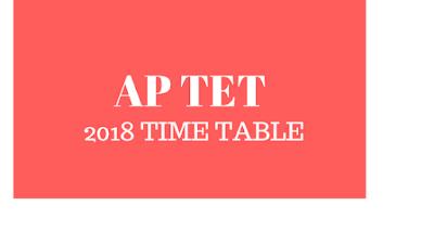 ap tet time table
