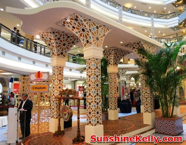 1 Utama, Pillars of Celebration, raya decoration at the mall