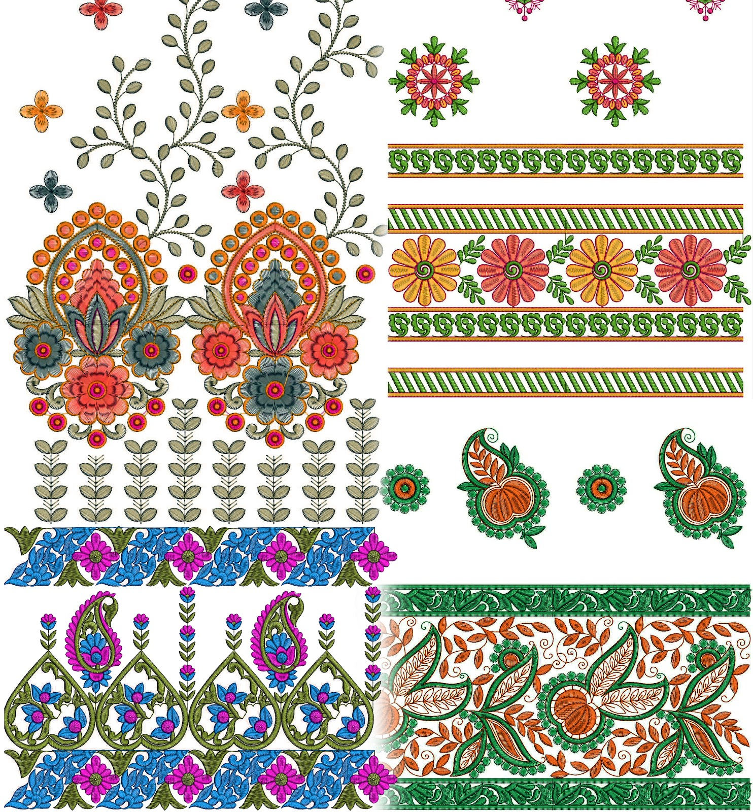 Gujarati Cultural Ladies Dress Embroidery Design Latest Embroidery