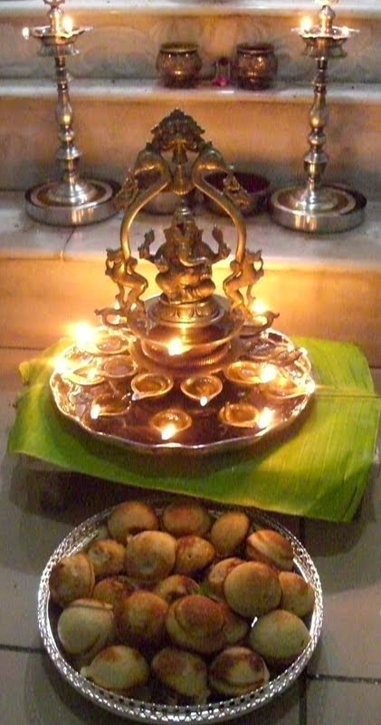 Offering To Lord Ganesh