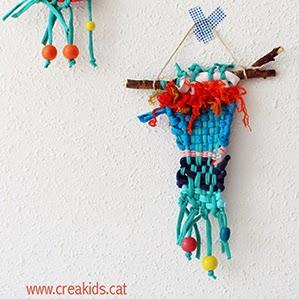 CreaKids: Tapices con telar DIY