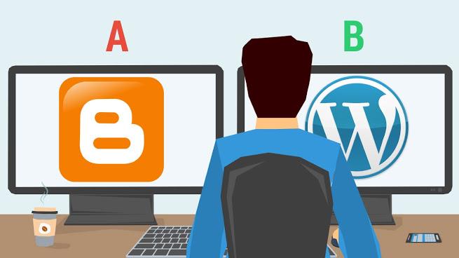 أيهما الأفضل لإنشاء مدونتك، ووردبريس أو بلوجر؟