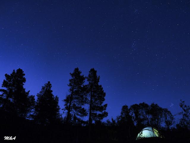 Noche de estrellas en Anderdalen por El Guisante Verde Project