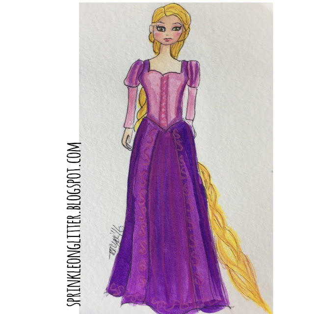 Sprinkle on glitter blog//31 days of disney//rapunzel