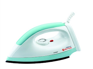 Orient DI1003P 1000-Watt Dry Iron (Green and White)