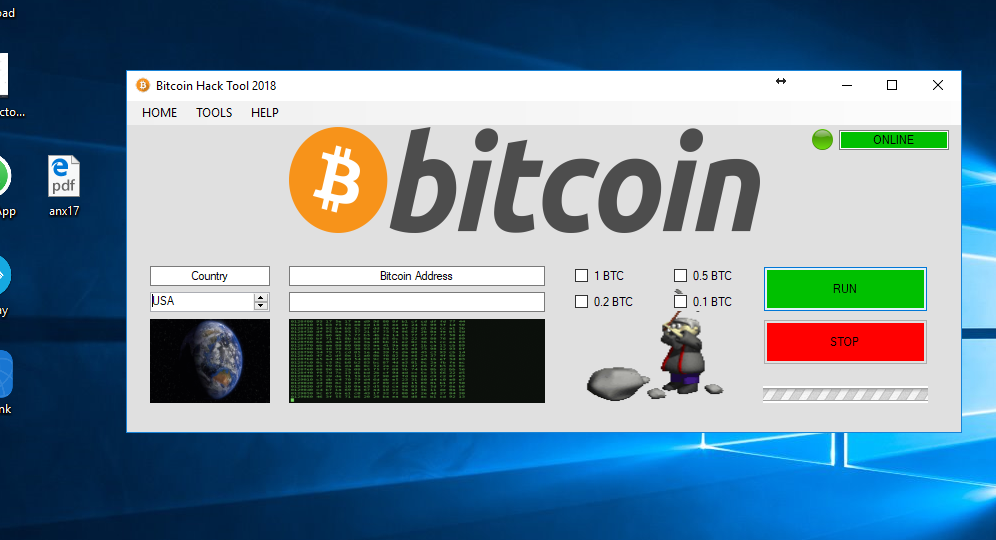bitcoin hack tool descărcare gratuită)