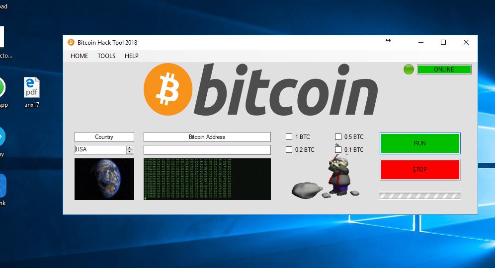 generatore di bitcoin hack review