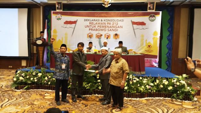 Gelar Konsolidasi, Relawan PA 212 Solo Raya Siap Menangkan Prabowo-Sandi