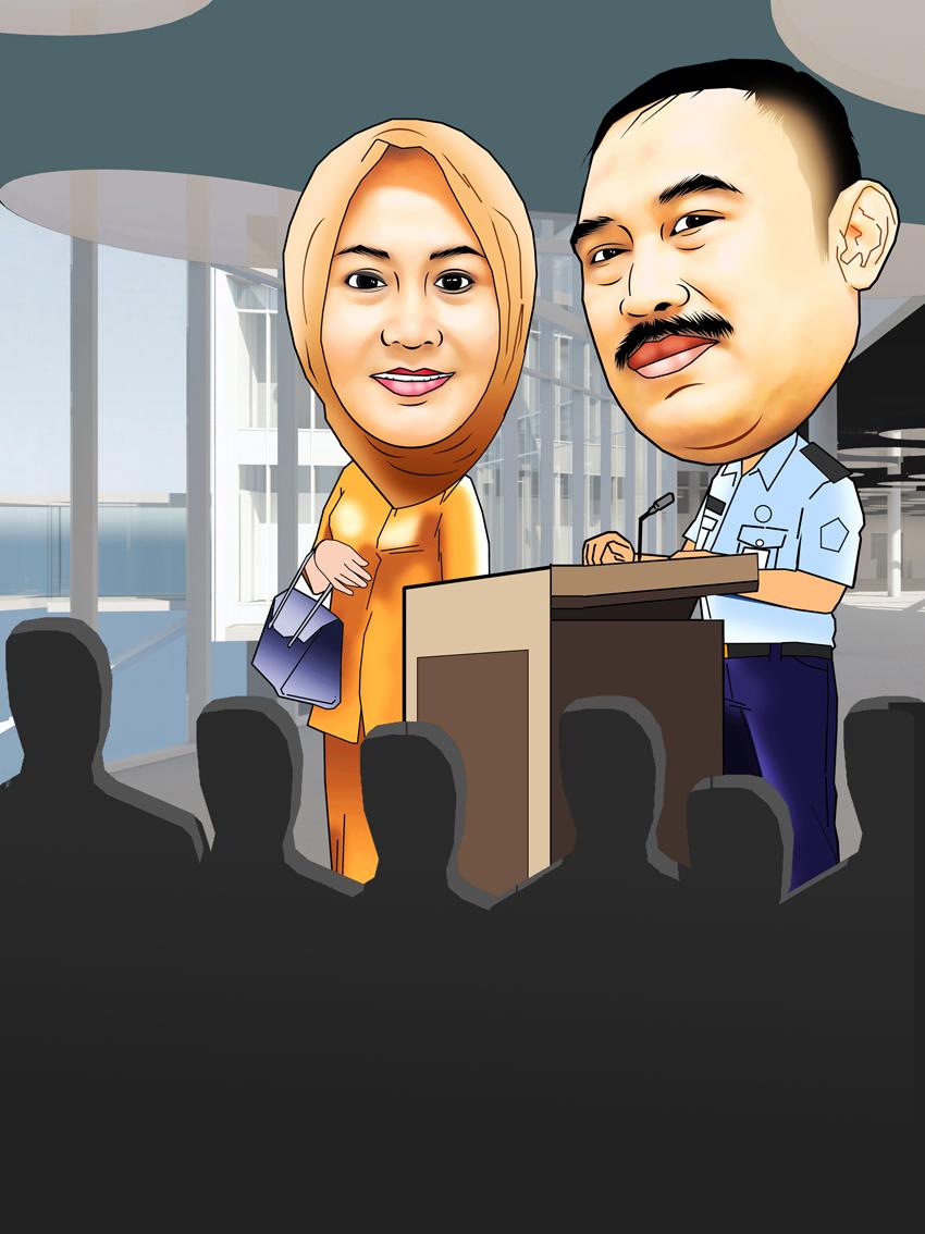 PESAN KARIKATUR MURAH Karikatur Pati TNI