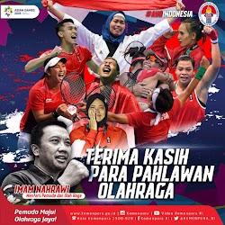 Prestasi Indonesia di Urutan ke-4 Asian Games 2018 sebagai Torehan Terbaik yang Akan Menjadi Catatan Sejarah yang Abadi