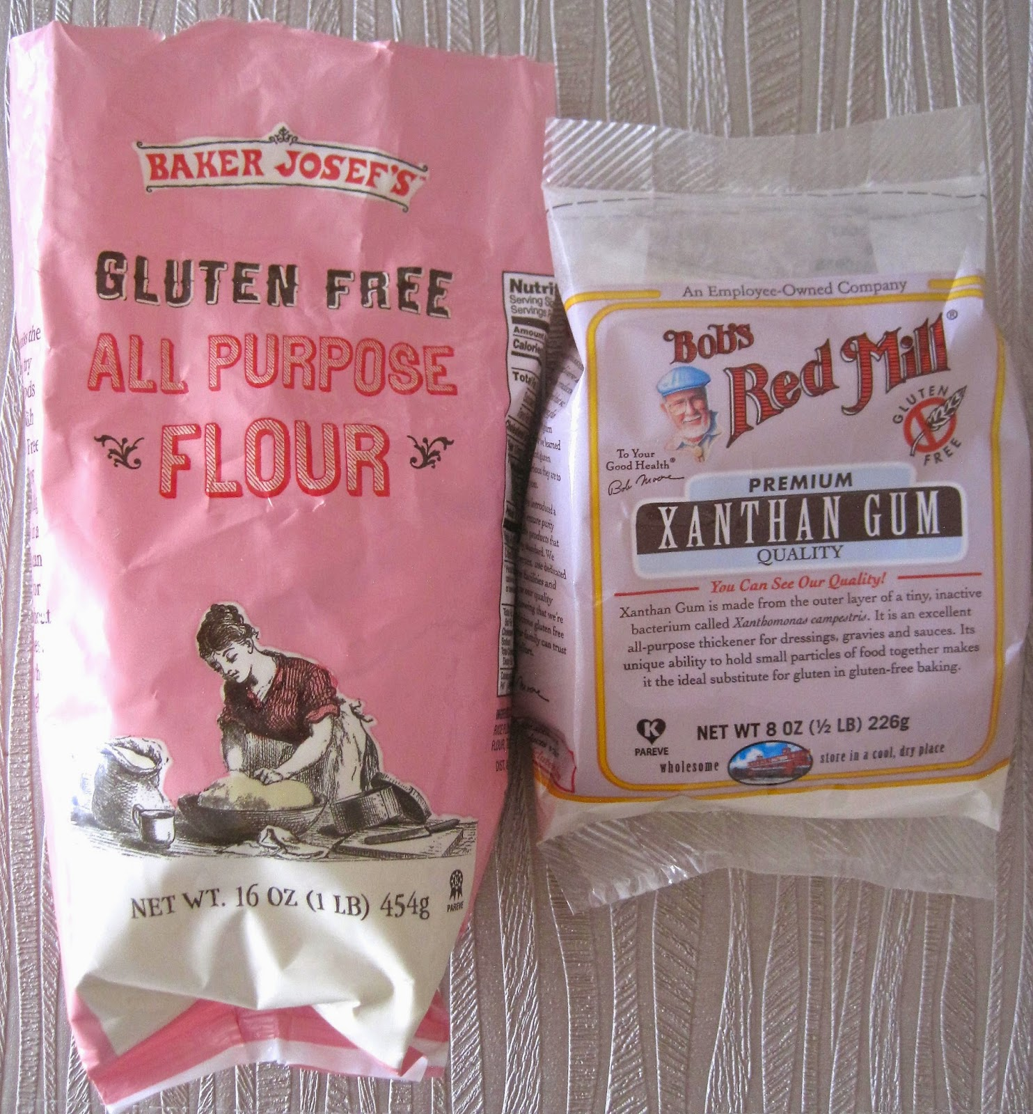 Trader Joe's Gluten-Free All Purpose Flour & Bob's Red Mill Xanthan Gum