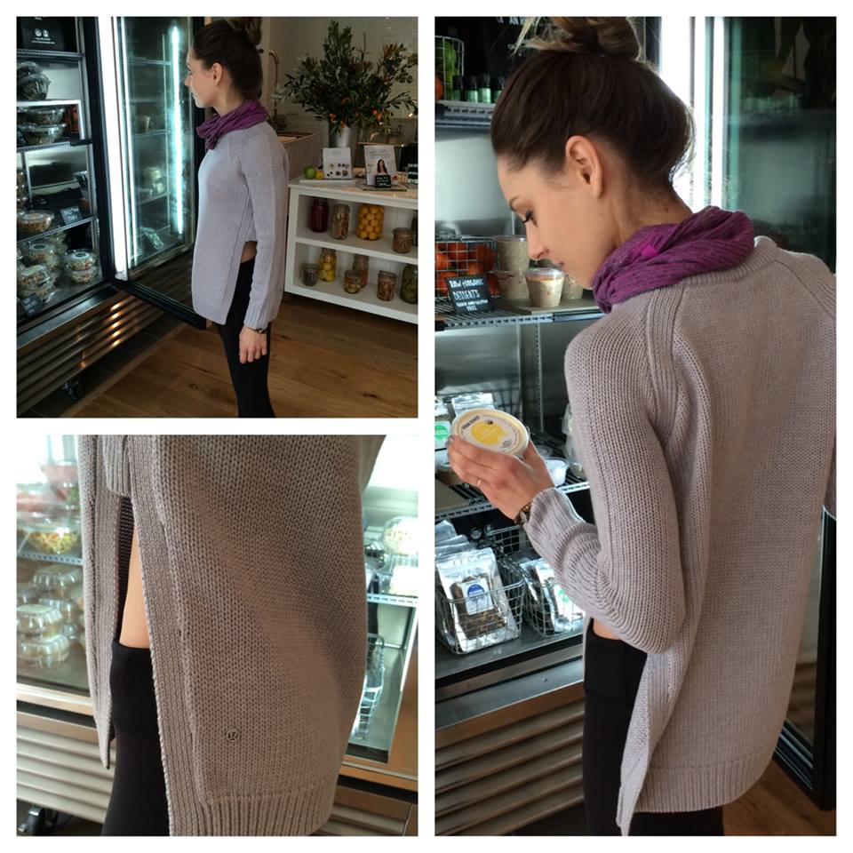 7c5058bfd9 Lululemon Addict: Yin to You Sweater, Roll Around Tee, and More