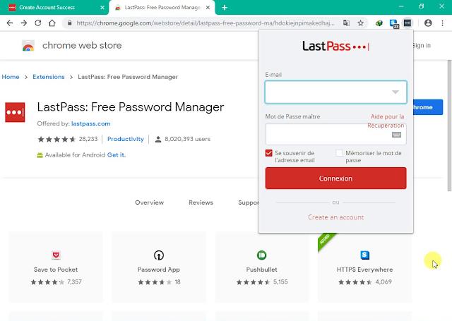 تحميل ملحف كروم LastPass Free Password Manager لحماية كلمات السر الخاصة بك
