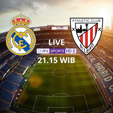 Jelang Real Madrid vs Athletic Bilbao: Madrid Limbung, Bilbao Kejar Target