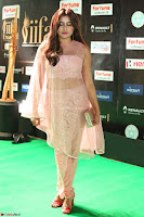 Nidhi Subbaiah Glamorous Pics in Transparent Peachy Gown at IIFA Utsavam Awards 2017  HD Exclusive Pics 60.JPG