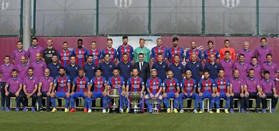 """Daftar Skuad Pemain Barcelona 2016-2017"""