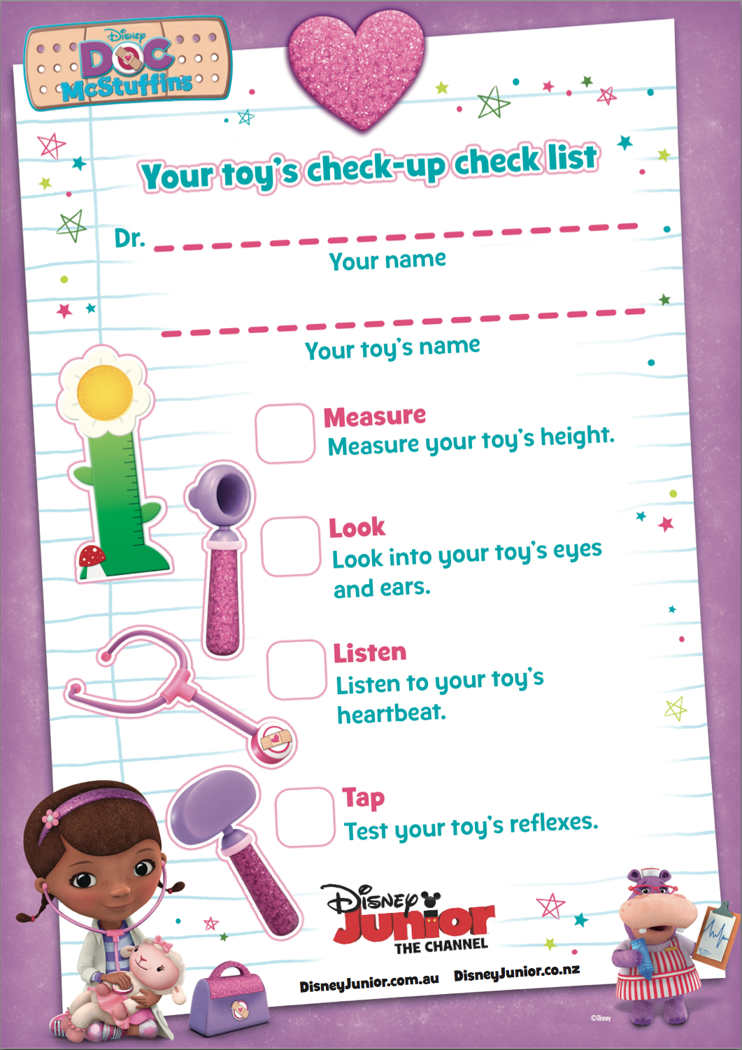 Learn With Play At Home: Toy Doctor Pretend Play With Free