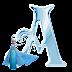 Alfabeto de Elsa de Frozen Congelando las Letras.
